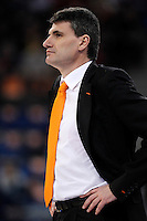 Valencia Basket Club's coach Velimir Perasovic during Spanish Basketball King's Cup match.February 07,2013. (ALTERPHOTOS/Acero) /NortePhoto