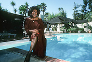 Los Angeles, U.S.A, 1987. Zelma Bullock, the mother of Tina Turner. Zelma Bullock, the mother of Tina Turner.