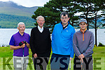 Des Hayes, Micheal O'Muiracheartaigh, Michael Fleming and Leon Kalaiazidis who participated in the St John of Gods golf classic in Killarney Golf Course last Friday