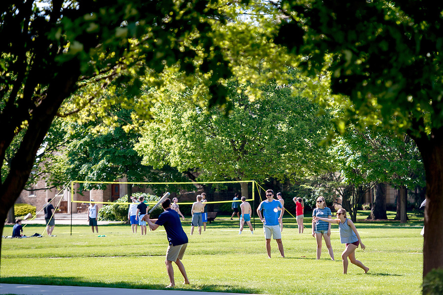 May 12, 2017; Beginning of Senior Week 2017 (Photo by Matt Cashore/University of Notre Dame)