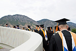 0508-28 August Commencement..Summer Commencement, Processional, Graduates with families...Photo by Jaren Wilkey/BYU..Copyright BYU Photo 2005.All Rights Reserved.photo@byu.edu  (801)422-7322