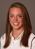 STANFORD, CA - SEPTEMBER 10:  Betsy Webb of the Stanford Cardinal during women's swimming picture day on September 10, 2009 in Stanford, California.
