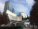 Chicago, Illinois, United States of America / USA; December 27, 2016 -- Jay Pritzker (Music) Pavilion, designed by Frank Gehry, at Millennium Park -- Photo: © HorstWagner.eu