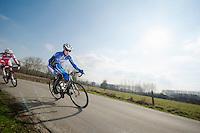 3 Days of De Panne.stage 1: Middelkerke - Zottegem..Kiel Reijnen (USA)