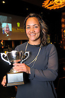 Women's player of the year Acacia Te Iwimate. 2016 Wellington Rugby Union Awards at Te Papa in Wellington, New Zealand on Saturday, 29 October 2016. Photo: Dave Lintott / lintottphoto.co.nz