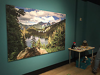 "They used my photograph of Watson Lakes at Noisy-Diobsud Wilderness in the ""Wild Nearby"" exhibit at the Burke Museum in Seattle."