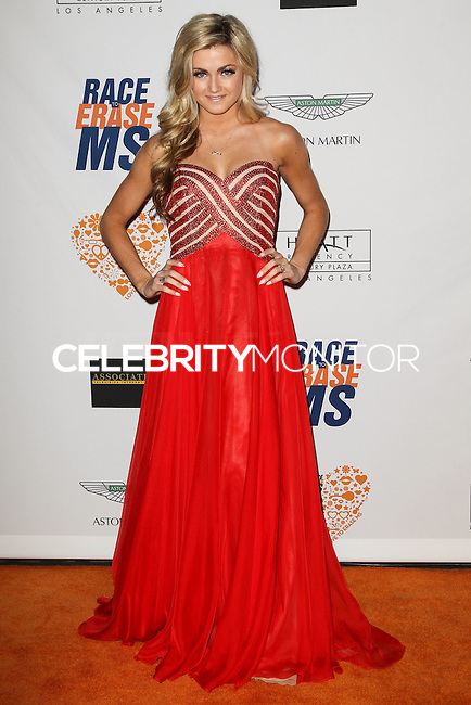 CENTURY CITY, CA, USA - MAY 02: Lindsay Arnold at the 21st Annual Race To Erase MS Gala held at the Hyatt Regency Century Plaza on May 2, 2014 in Century City, California, United States. (Photo by Celebrity Monitor)