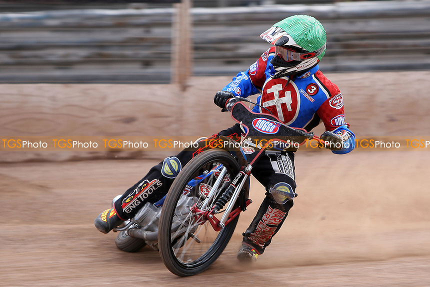 Adam Shields of Lakeside - Ipswich Witches vs Lakeside Hammers - Craven Shield Speedway at Foxhall Stadium, Ipswich - 21/03/08 - MANDATORY CREDIT: Gavin Ellis/TGSPHOTO - Self billing applies where appropriate - Tel: 0845 094 6026
