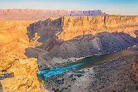 Grand Canyon at Badger Rapid, Grand Canyon National Park, Arizona, Marble Canyon