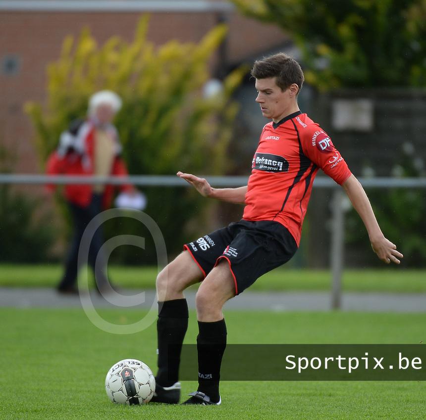 Winkel Sport : Arne Devisch<br /> foto VDB / BART VANDENBROUCKE