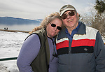 Christine and Sheldon Weiss during Snowfest at North Lake Tahoe on Saturday, March 11, 2017.