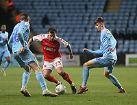 Photographer Mick Walker/CameraSport<br /> <br /> The EFL Sky Bet League One - Coventry City v Fleetwood Town - Tuesday 12th March 2019 - Ricoh Arena - Coventry<br /> <br /> World Copyright &copy; 2019 CameraSport. All rights reserved. 43 Linden Ave. Countesthorpe. Leicester. England. LE8 5PG - Tel: +44 (0) 116 277 4147 - admin@camerasport.com - www.camerasport.com