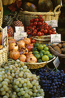 Detail of village fruit market, Avignon, France