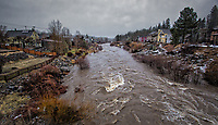 """From the National Weather Service in Reno:  """"The Truckee River at Reno is now at its highest flow since 12/31/05.  However, that was the last big flood and the flow was 4x higher!"""""""