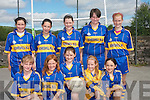 Boheshill National School competed against Toureencahill NS at the two-teacher county final in Austin Stacks in Tralee last week. .Back L-R Eibhlis O'Connor, Eva Cronin, Ciara O'Connor, Eileen Morris and Liah Knight. .Front L-R Anna Breen, Lucy Knight, Brianna O'Connor, Marie O'Connor  and Imelda Taylor