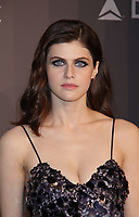 NEW YORK, NY - FEBRUARY 7: Alexandra Daddario at the 2018 amfAR Gala New York honoring Lee Daniels and Stefano Tonchi at Cipriani Wall Street in New work City on February 7, 2018. <br /> CAP/MPI99<br /> &copy;MPI99/Capital Pictures