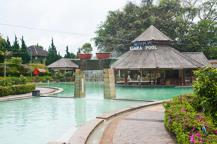 Kiara Pool at Ciater Spa Resort, Bandung, Java, Indonesia