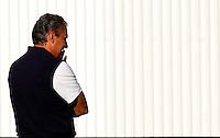 S&Atilde;O PAULO,SP,29 JUNHO 2012 - TREINO CORINTHIANS <br /> O tecnico Tite durante treino do Corinthians no CT Joaquim Grava, no Parque Ecologico do Tiete, zona leste de Sao Paulo, na tarde desta sexta-feira 29. O time se prepara para o jogo contra o Boca Juniors, no estadio Paulo Machado de Carvalho Pacaembu pela final da Copa Libertadores 2012. FOTO ALE VIANNA - BRAZIL FOTO PRESS