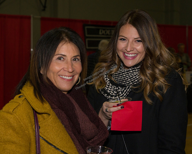 Amy and Lani Copeland during the 38th Annual Jack T. Reviglio Cioppino Feed and Auction at the Boys & Girls Club in Sparks on Saturday, February 24, 2018.