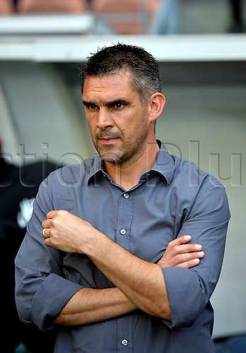 31.08.2013. Paris, France. French League football. Paris St Germain versus Guingamp Aug 31st.  Jocelyn Gourvennec