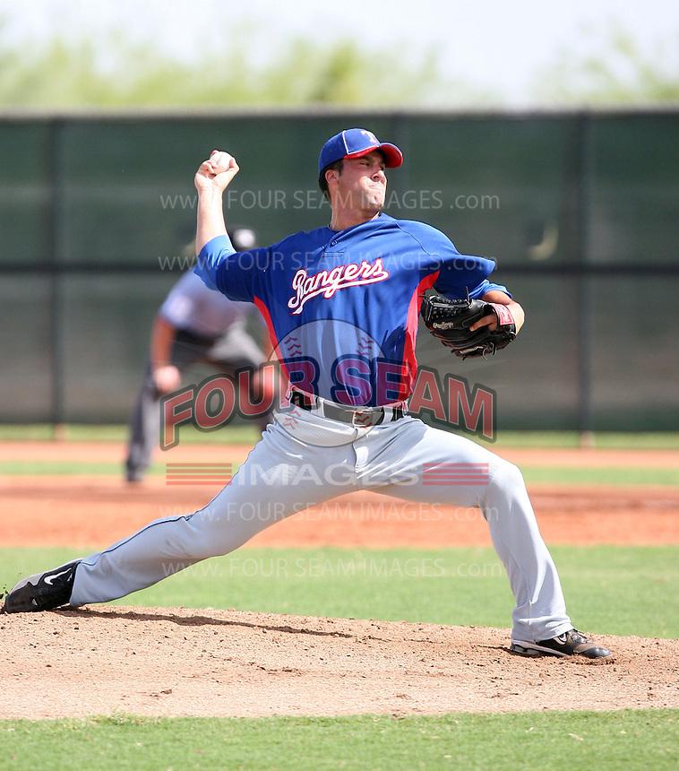 Joe Van Meter - Texas Rangers - 2010 Instructional League.Photo by:  Bill Mitchell/Four Seam Images..