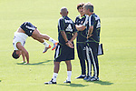 MADRID (11/08/2010).- Real Madrid training session at Valdebebas. Cristiano Ronaldo and Jose Mourinho...Photo: Cesar Cebolla / ALFAQUI
