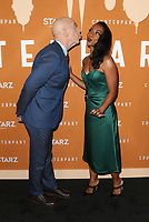 HOLLYWOOD, CA - DECEMBER 3: J. K. Simmons, Betty Gabriel, at the Season 2 premiere of Counterpart at The Arclight Hollywood in Hollywood, California on December 3, 2018. <br /> CAP/MPIFS<br /> &copy;MPIFS/Capital Pictures