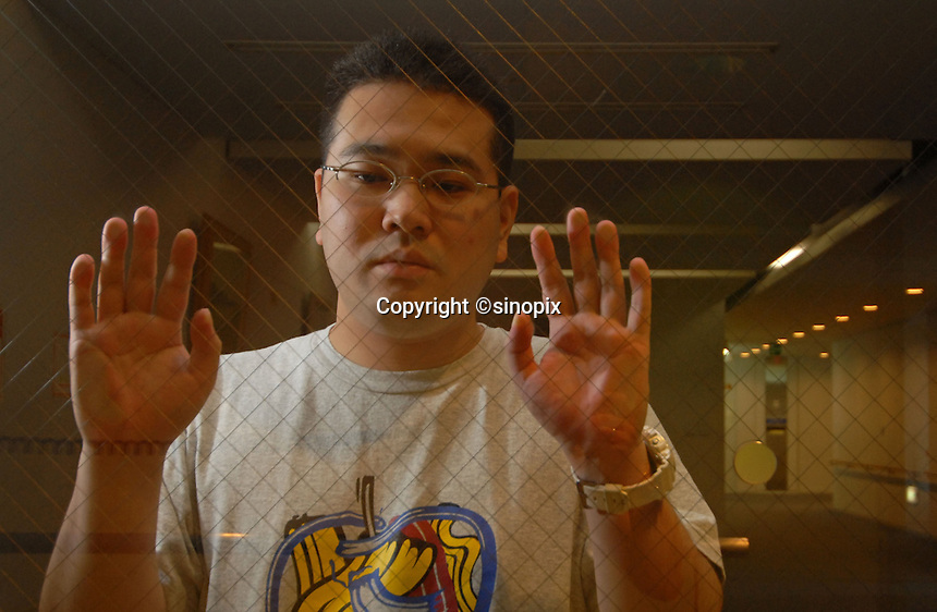 Hesaki Fuji shiro, 32,  who locked himself in his room for 6 years. The phenomenen of locking oneself in a room, unable to face society and other humans is known as &quot;hikikomori&quot; in Japan.There are apparently 1.3 million hikimori in Japan.<br /> <br /> 10-Oct-2006