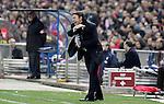 Atletico de Madrid's coach Abel Resino during La Liga match, March 01, 2009. (ALTERPHOTOS/Alvaro Hernandez).