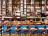 The bar at the Albert restaurant, inside the new Hotel EMC2 in Chicago, IL. Photo by Kevin J. Miyazaki/PLATE