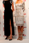 September 6, 2012 : Tokyo, Japan - Ai Tominaga and Anna Tsuchiya appear at the press conference for ''FASHION'S NIGHT OUT'' by VOGUE JAPAN, Tokyo, Japan. VOGUE JAPAN's Mitsuko Watanabe announced the fashion event in Osaka area. It will be called ''FASHION'S NIGHT OUT 2012 OSAKA in Umeda Hankyu. (Photo by Yumeto Yamazaki/AFLO).