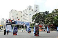 SAO PAULO 27 DE FEVEREIRO DE 2014 - BRASIL OPEN SAO PAULO 2014 - O Brasil Open acontece no Ginásio do Ibirapuera, na cidade de São Paulo durante os dias 22 de fevereiro a 02 de março. foto: Paulo Fischer/ Brazil Photo Press.