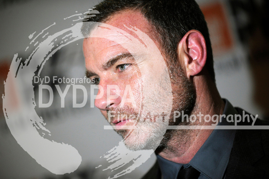 Liev Schreiber attends 'Joan Didion: The Center Will Not Hold' premiere during the 55th New York Film Festival at Alice Tully Hall on October 11, 2017 in New York City.