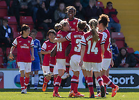 Chelsea Ladies v Arsenal Ladies - FA Cup Semi Final at Woking FC - 11/05/2014