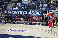 Detroit Bench. The California Golden Bears defeated the Detroit Titans  95-61 during the regional round of the 2K Sports Classic benefiting coaches vs cancer at Haas Pavilion in Berkeley, California on November 11th, 2009.