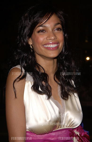 Nov 16, 2004; Los Angeles, CA: Actress ROSARIO DAWSON at the world premiere, in Hollywood, of her new movie Alexander..