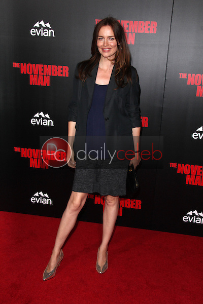 Saffron Burrows<br />