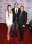 "WEST HOLLYWOOD, CA. - March 01: Producers/writers Kim Moses, P.K. Simonds and Ian Sander arrive to the ""Ghost Whisperer"" 100th Episode Celebration at XIV on March 1, 2010 in West Hollywood, California."