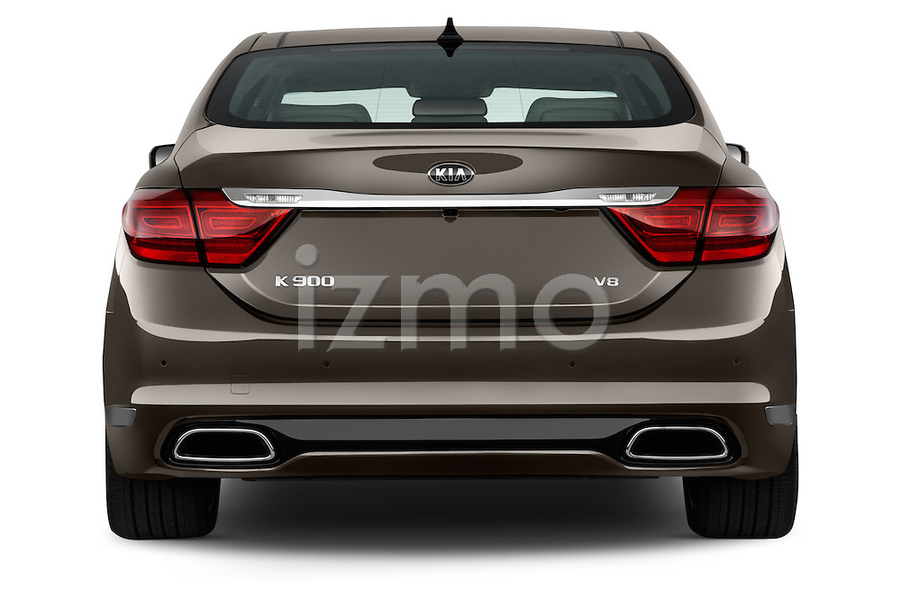 Straight rear view of a 2015 KIA K900 Base 4 Door Sedan