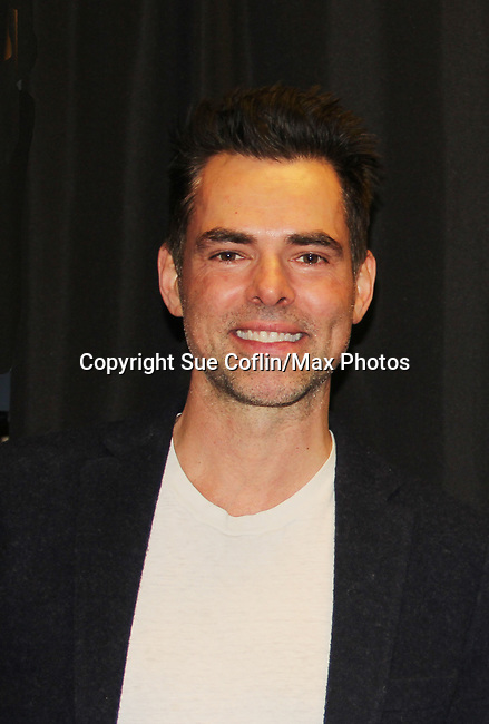 The Young and The Restless actor Jason Thompson on February 16, 2019 for a fan q & a, meet and great with autographs and photo taking hosted by Soap Opera Festival's Joyce Becker at the Hollywood Casino in Columbus, Ohio. (Photos by Sue Coflin/Max Photos)