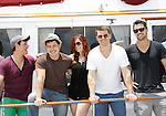 Christian LeBlanc, Christopher Sean, Melissa Archer, Jeff Branson, Ryan Paevey,- Actors from Y&R, Days and General Hospital donated their time to Southwest Florida 16th Annual SOAPFEST and during the weekend took a break to chill on one of the boats to see dolphins and to swim off Marco Island, Florida on May 23, 2015 - a celebrity weekend May 22 thru May 25, 2015 benefitting the Arts for Kids and children with special needs and ITC - Island Theatre Co.  (Photos by Sue Coflin/Max Photos)