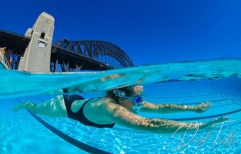 Split level images of swimming pool | Darryl Torckler