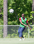 DaMarcus Beasley on Saturday, May 20th, 2006 at SAS Soccer Park in Cary, North Carolina. The United States Men's National Soccer Team held a training session as part of their preparations for the upcoming 2006 FIFA World Cup Finals being held in Germany.