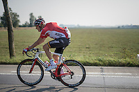 Lars Bak (DEN/Lotto-Soudal) returning from grocery shopping...<br /> <br /> 12th Eneco Tour 2016 (UCI World Tour)<br /> stage 3: Blankenberge-Ardooie (182km)