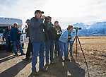One of the bus groups at the Raptor Highway and Byway tour during the Eagles & Agriculture event on Friday, Jan. 26, 2018 in the Carson Valley.