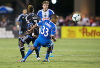 Santa Clara, California -Saturday, September, 2013: San Jose Earthquakes defeated Philadelphia Union 1 - 0 at Buck Shaw Stadium