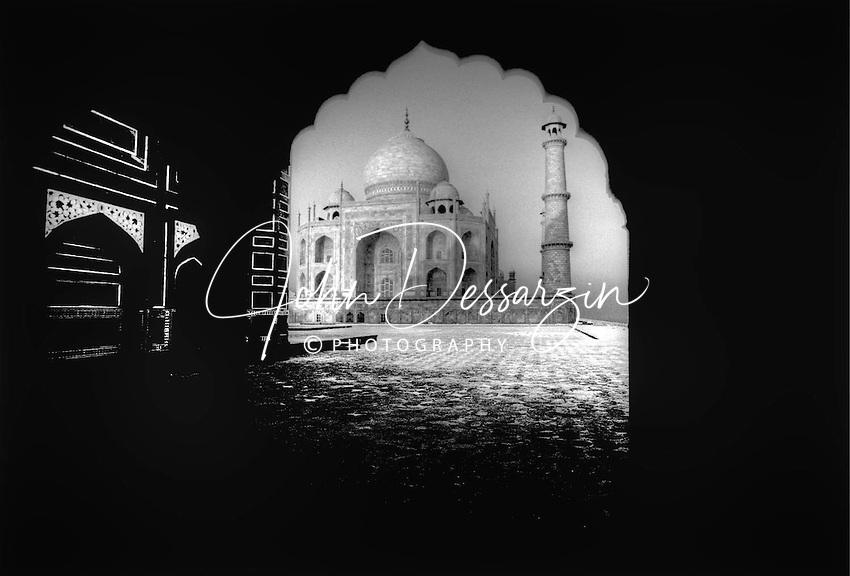 Taj Mahal C. 1632-1655 AD. Agra India