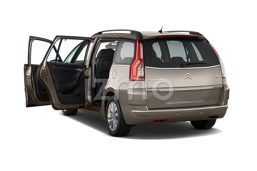 Rear three quarter door view of a 2010 Citroen GRAND C4 PICASSO Millenium 5 Door Minivan 2WD