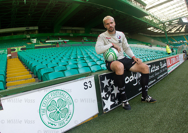 Ex-Celtic youth player Jacob Lensky back at Parkhead with FC Utrecht