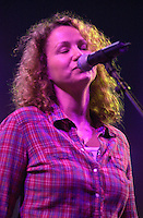 Joan Osborne performing with The Dead in concert at the Hartford Meadows 21 June 2003